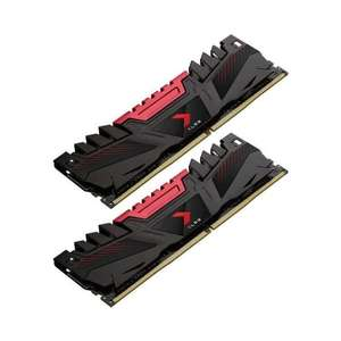 Kit mémoire Ram DDR4 PNY XLR8 16 Go (2x 8Go) - 3200 MHz, CAS 16