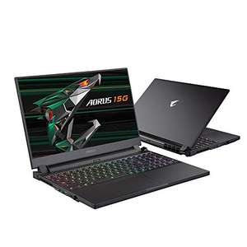 """PC portable 15.6"""" full HD Gigabyte Aorus 15G YC-8ES2450SH - 240 Hz, i7-10870H, RTX-3080 (8 Go), 32 Go RAM, 1 To SSD, Windows 10, QWERTY ES"""