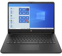 "PC Portable 14"" HP 14s-fq0098nf - AMD 3020e, 4 Go RAM, 128 Go SSD"