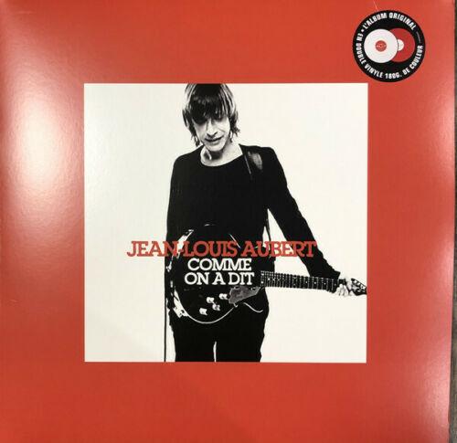 Album Vinyle Jean-Louis Aubert - Comme on a dit Edition Limitée Rouge et Blanc