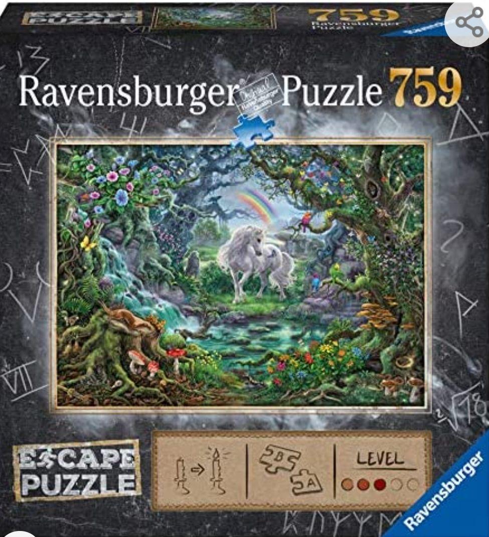 Ravensburger Escape Puzzle - La Licorne Adulte (759 pièces)