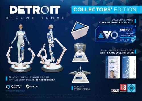Detroit Become Human Edition Collector sur PC