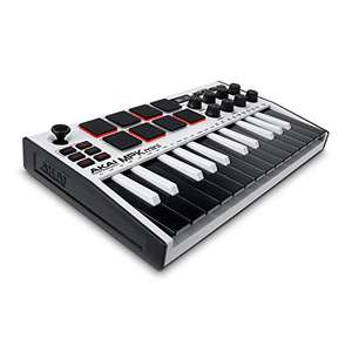 Clavier / Contrôleur MIDI Akai Professional MPK Mini MK3 - Blanc