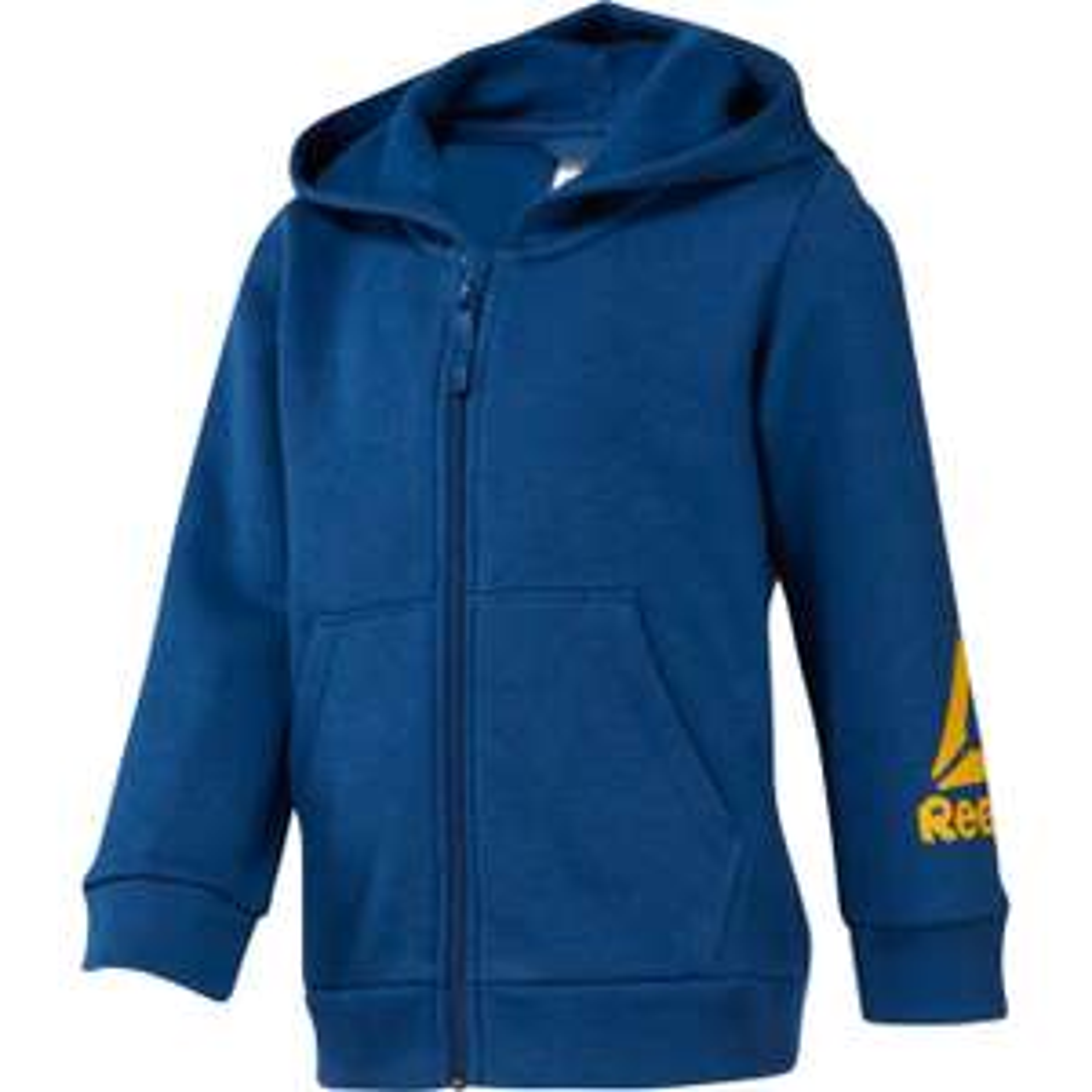 Sweat-shirt Reebok Elem FZ Fleece - bleu, du 6 au 14 ans (via retrait en magasin)