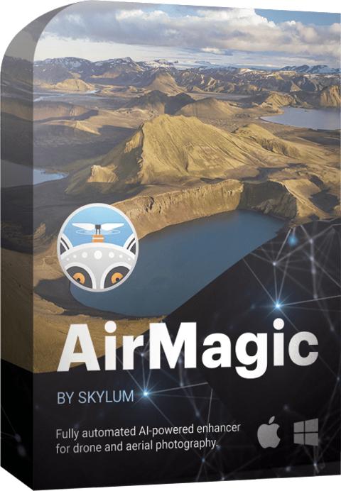 Licence gratuite pour AirMagic Skylum sur Windows/Mac (Dématérialisé)