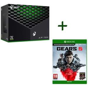 Pack console Microsoft Xbox Series X (1 To) + Gears 5 sur Xbox One & Series S/X