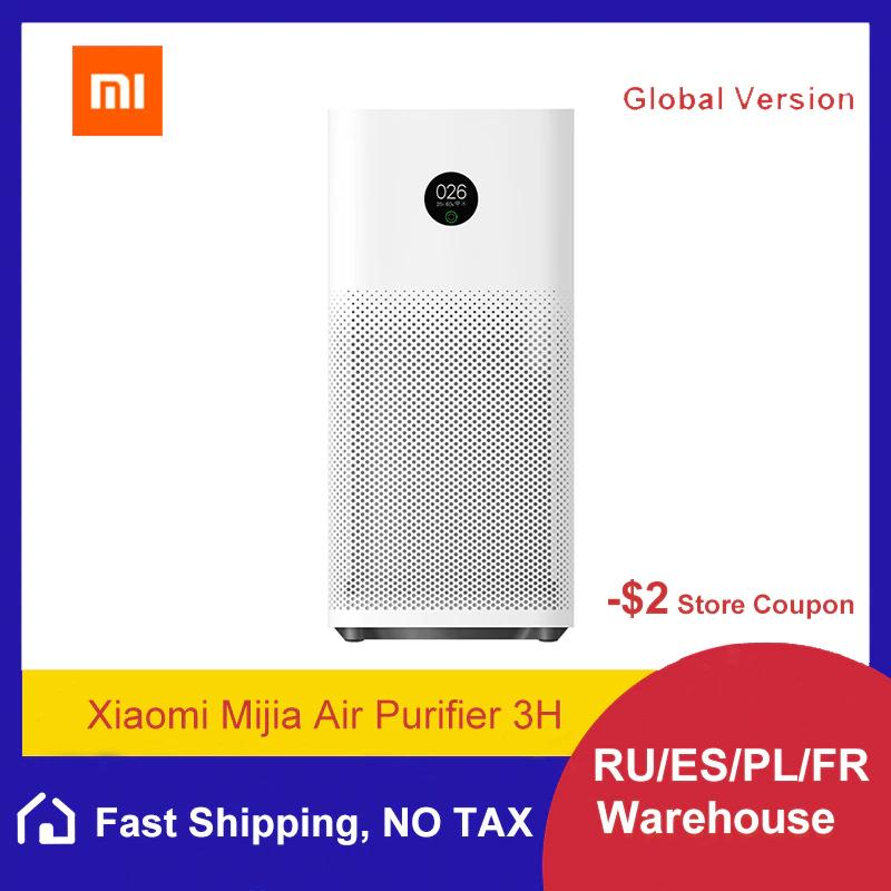 Purificateur d'air Xiaomi Mi Air Purifier 3H - 380 m³/h (98,01€ avec le code AEFD2110 - Entrepôt France)