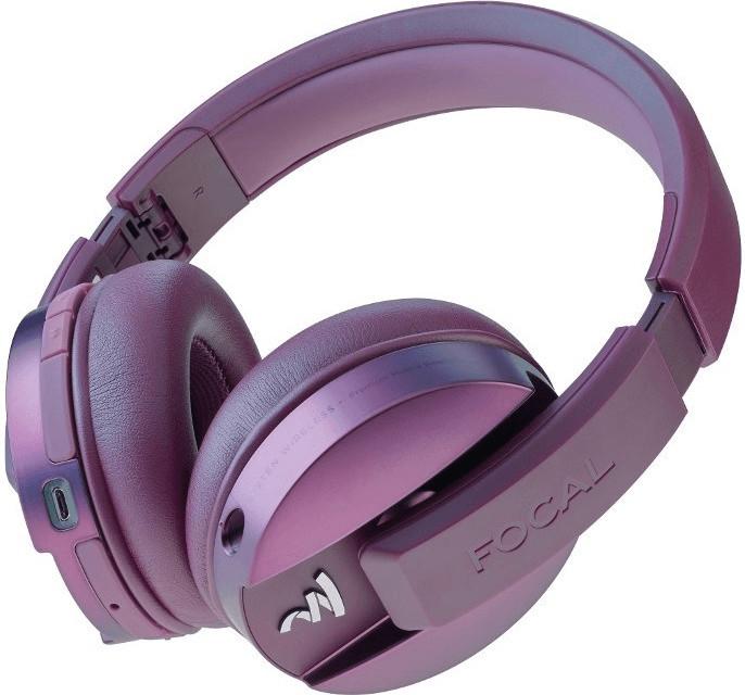 Casque audio sans-fil Focal Listen Wireless Chic - violet