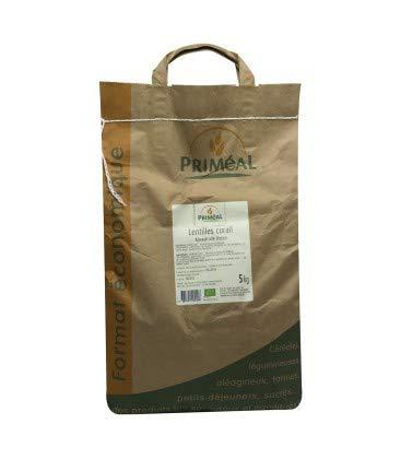 Sachet de lentilles biologiques Priméal Corail - 5 kg