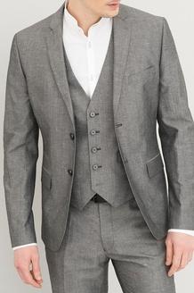 Sélection de Vestes de costume en promotion - Ex: Veste de costume en lin - Gris