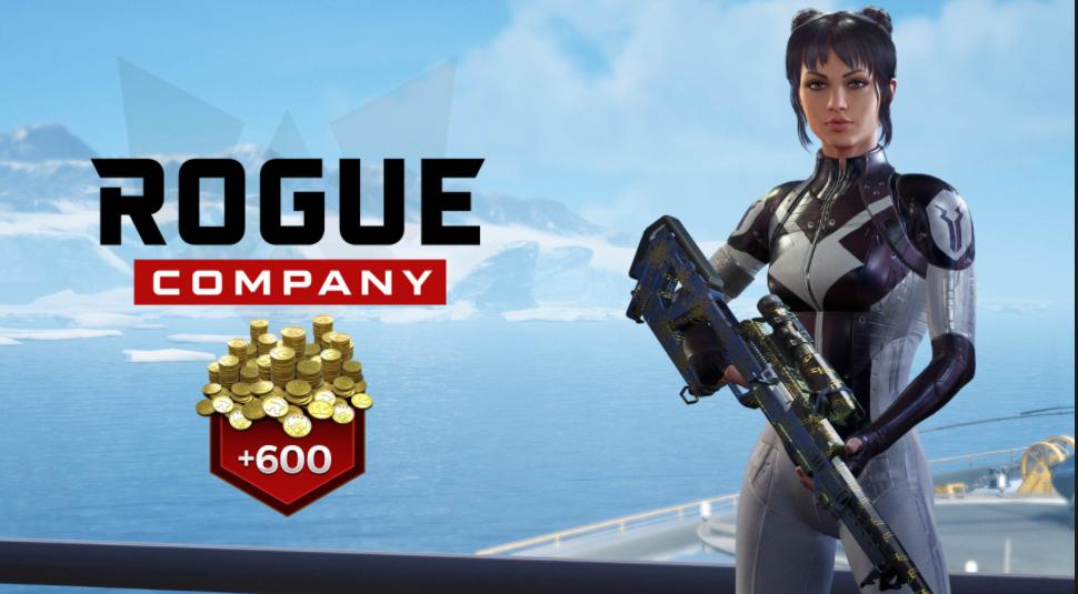 Pack de Démarrage Phantom Monochrome pour Rogue Company offert sur PC (Dématérialisé)