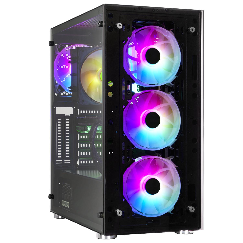 PC fixe gamer Xdream - Ryzen 7 5800X, Sapphire RX 6800XT Pulse (16Go), 16Go RAM (3200 MHz), 500go NVME SSD, B550, bequiet! RM 750W Gold