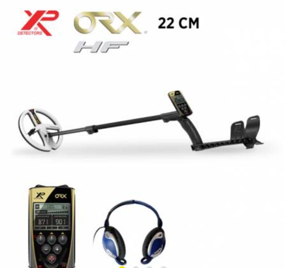 Détecteur de métaux XP ORX 22 HF (maisondeladetection.com)