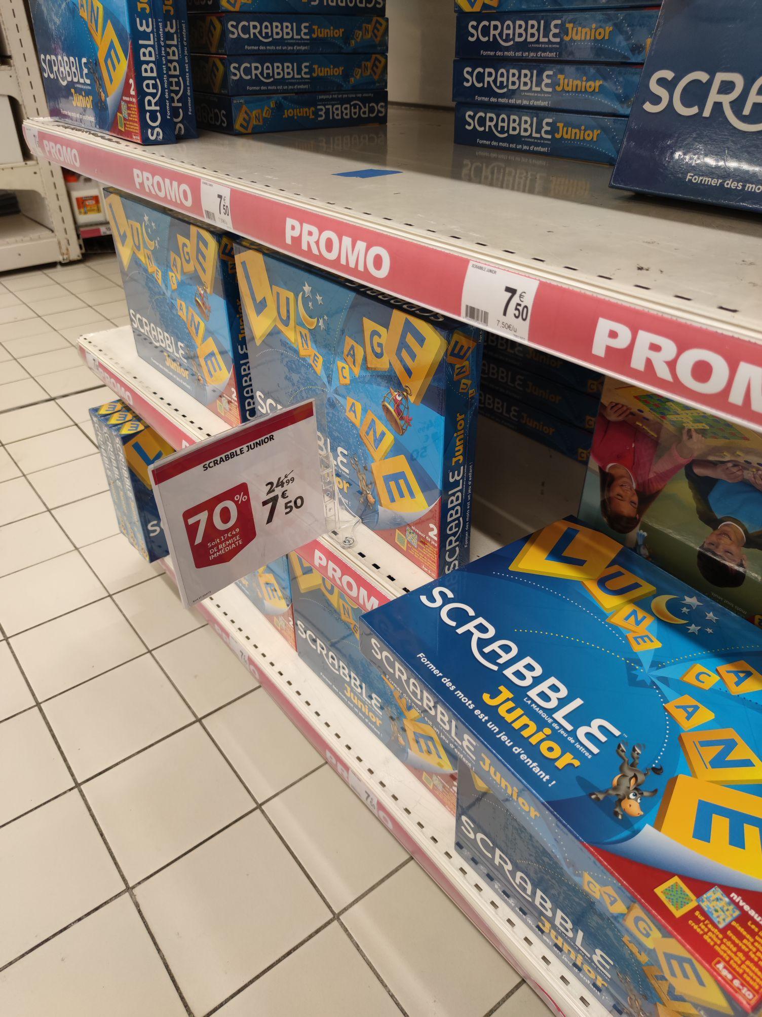 Jeu de société Scrabble Junior - Auchan du Kremlin Bicêtre (94)