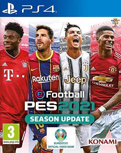 Jeu eFootball PES 2021 sur PS4