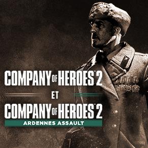 Company of Heroes 2 + DLC Ardennes Assault Gratuit sur PC (Dématérialisé)