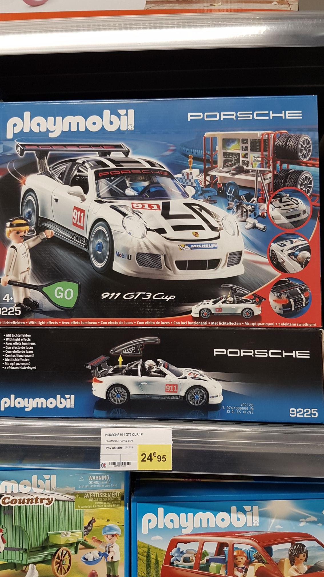 Playmobil 9225 - Porsche 911 GT3 Cup - Lillenium Lille (59)