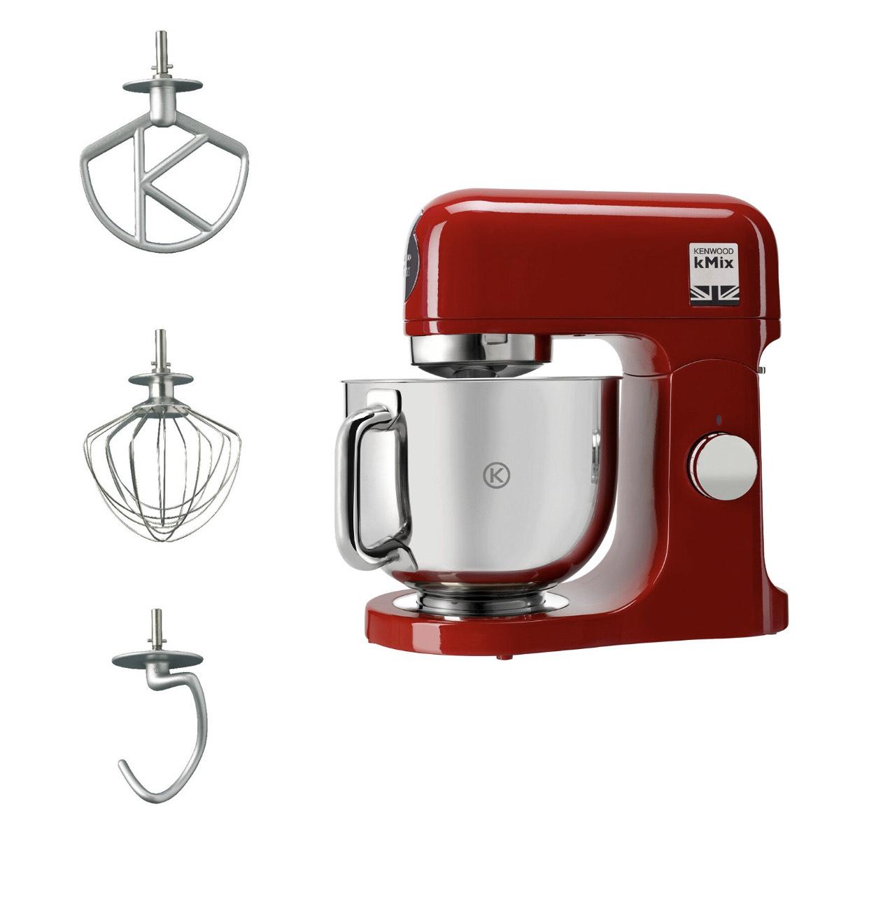 Robot pâtissier multifonction Kenwood KMix KMX750AR - 1000 W, 5 L (Via retrait 1H)