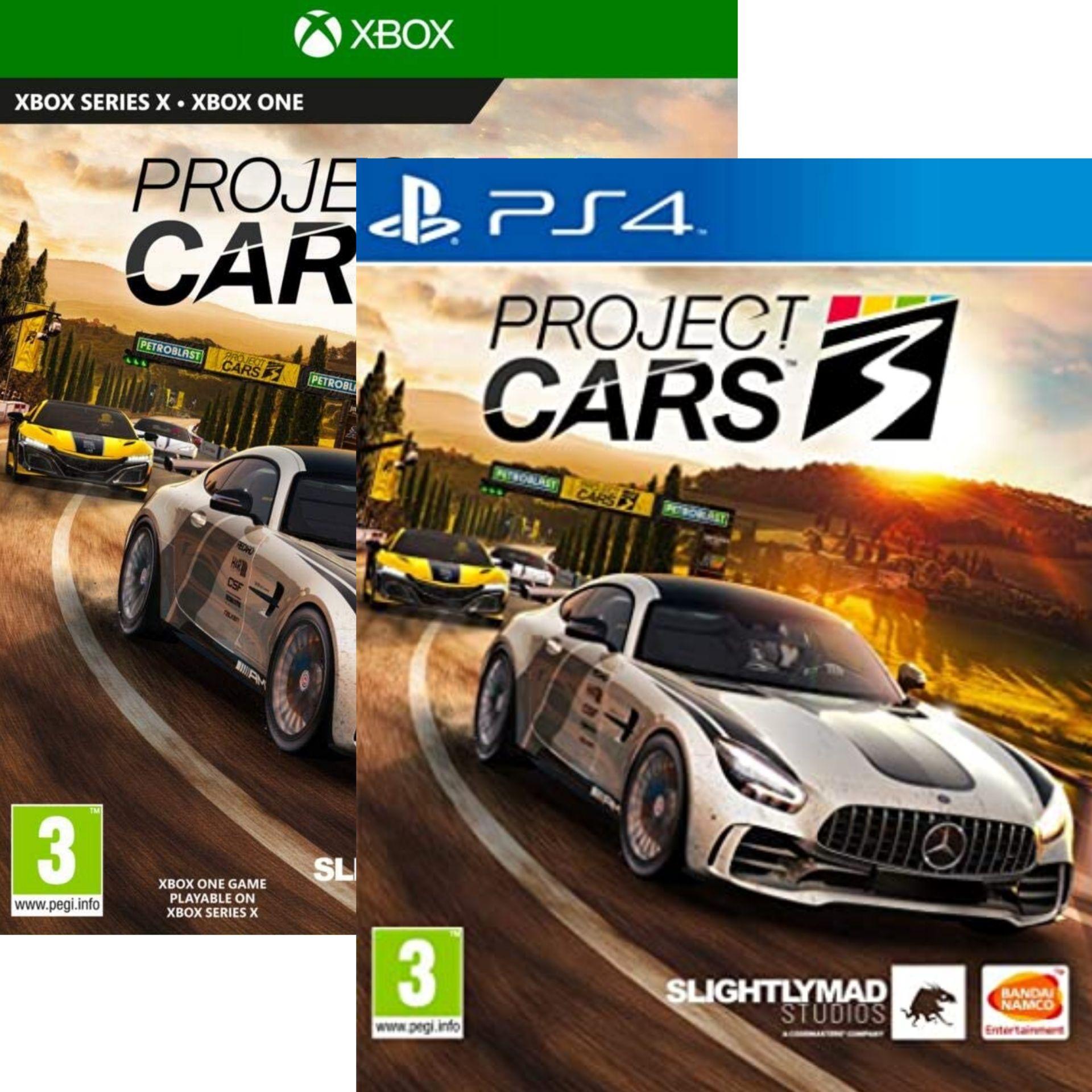 Sélection jeux en promo - Ex: Project Cars 3 sur PS4 ou Xbox One