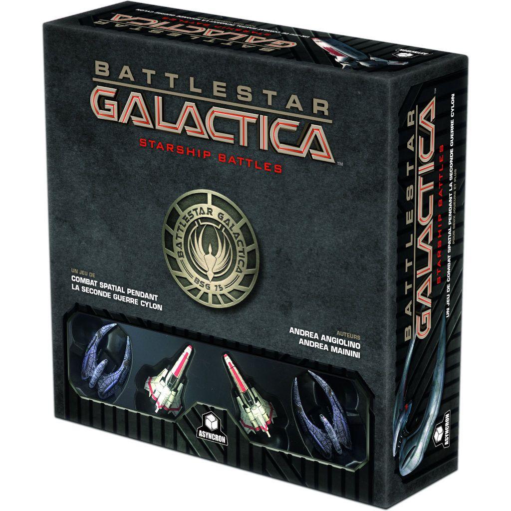 Jeu de société Battlestar Galactica Starship Battle