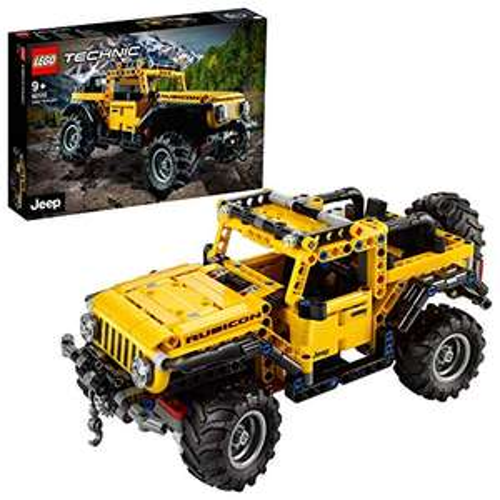 Sélection Lego - Ex : Jouet Lego Technic - Jeep Wrangler (42122) (Frais d'importation compris)
