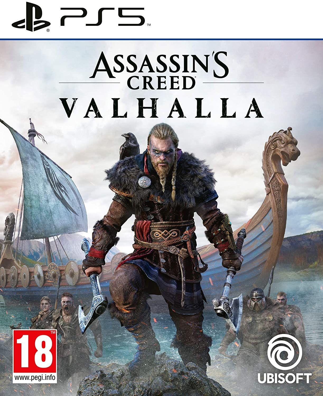 Assassin's Creed Valhalla sur PS5 (Frais d'importation compris - Via l'Application)