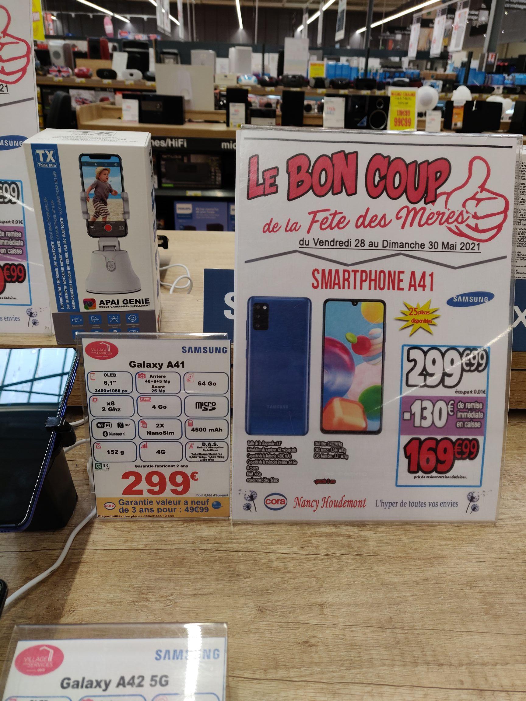 "Smartphone 6.1"" Samsung Galaxy A41 - 64 Go, 4 Go RAM (Nancy-Houdemont 54)"