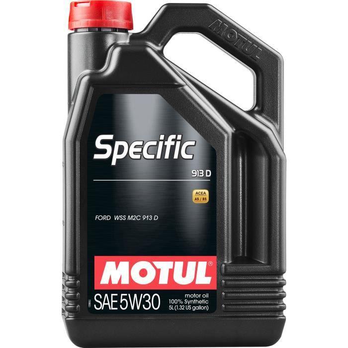 Bidon d'huile moteur Motul Specific 913D 5W-30 (5L)