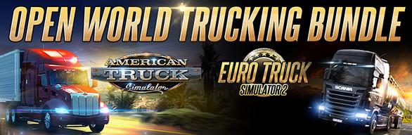 Pack Euro Truck Simulator 2 + American Truck Simulator sur PC (Dématérialisé)