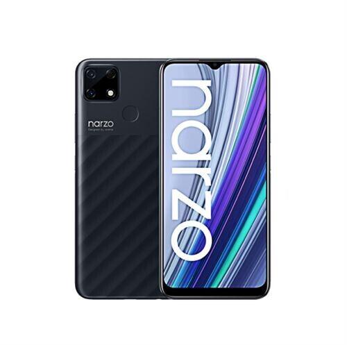 """Smartphone 6.5"""" Realme Narzo 30A - HD+, Helio G85, 4 Go de RAM, 64 Go, noir (vendeur tiers)"""