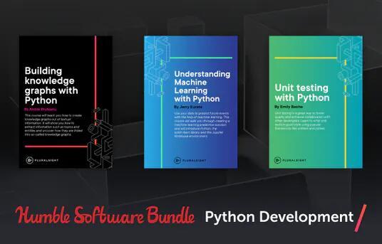Bundle de 20 cours de Python du site Pluralsight (Numérique - En Anglais)