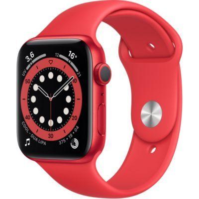 Montre connectée Apple Watch Series 6 (GPS) - 44 mm, Rouge (+ 34.10€ offerts en Rakuten Points)