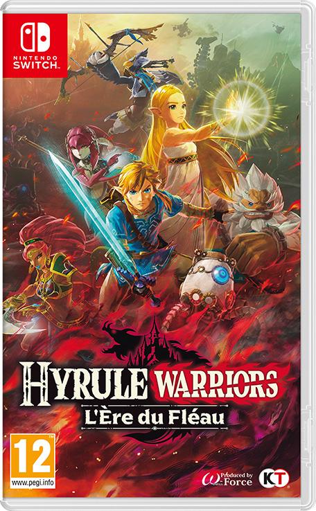 Pass d'Extension Hyrule Warriors : L'Ère du Fléau gratuit sur Nintendo Switch (Dématirialisé)