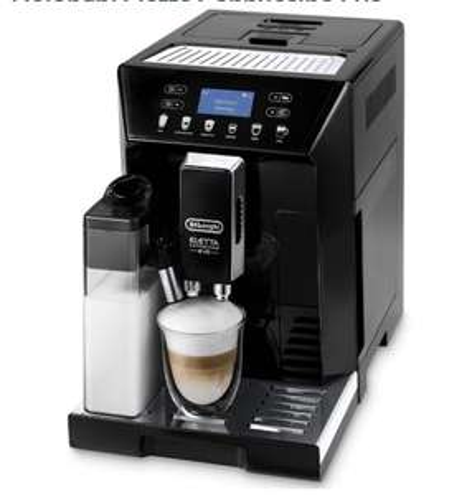 Machine à café Delonghi Eletta Cappuccino Evo ECAM 46.860.B