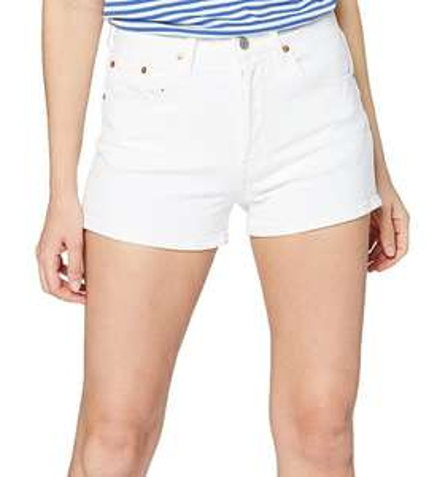 Short femme Levi's 501 High Rise - Blanc