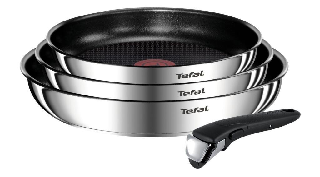 Batterie de cuisine Tefal Ingenio Emotion L925S414 - 4 pièces