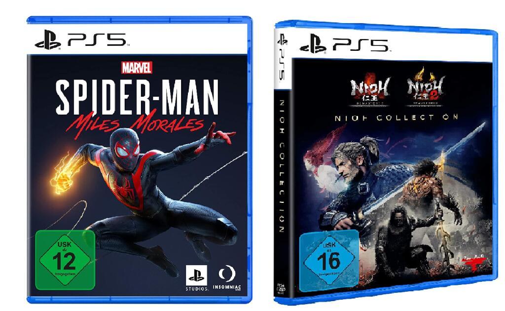 20% de remise pour 2 Jeux achetés parmi une sélection - Ex : Marvel's Spider-Man Miles Morales + Nioh Collection sur PS5