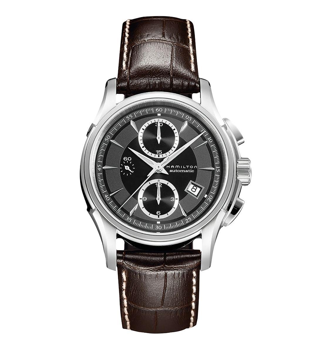 Montre Automatique Hamilton Jazzmaster Chronographe, Verre Saphir, mouvement ETA H-21- 42 mm