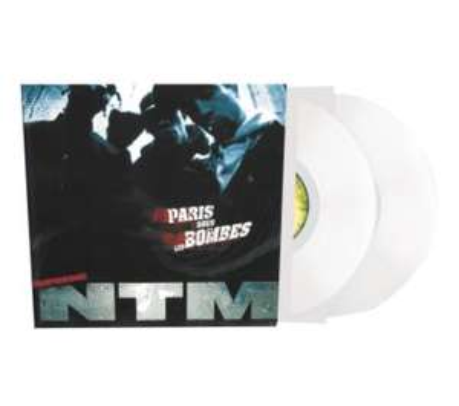 Sélection de vinyles Suprème NTM en promotion - Ex : Paris sous les bombes Edition Limitée Vinyle Blanc