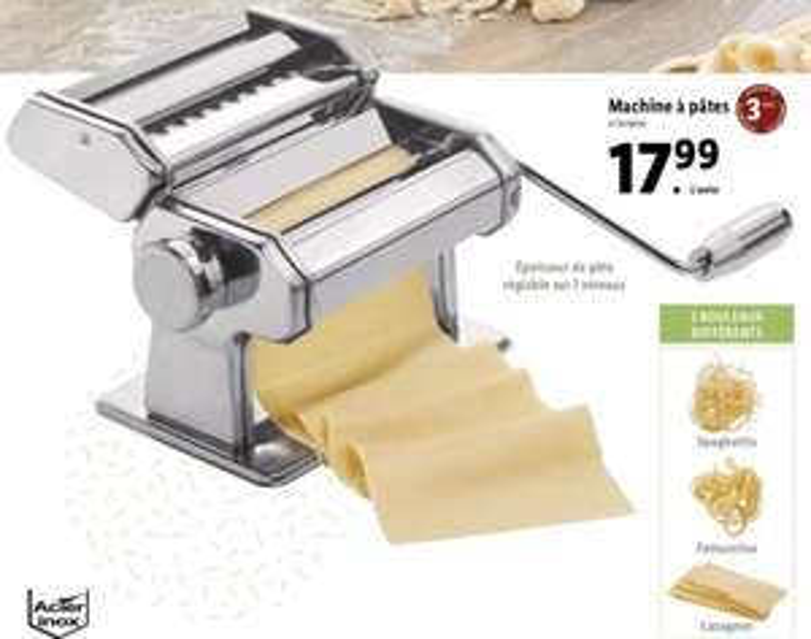 Machine à pâtes manuelle Ernesto