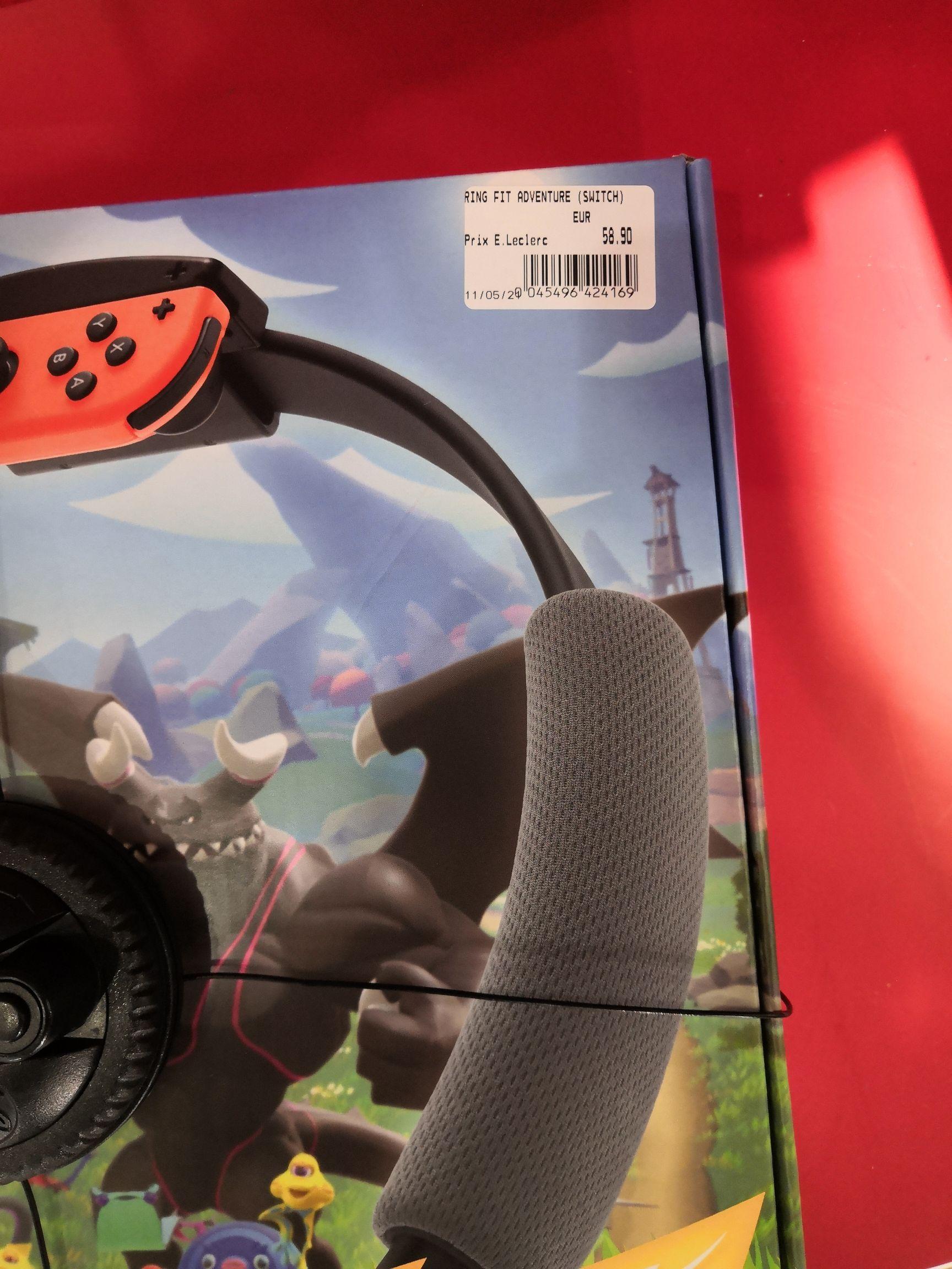Jeu Ring Fit Adventure sur Nintendo Switch