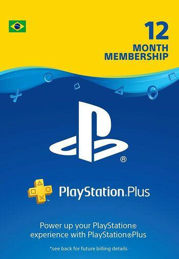 Abonnement de 12 mois au PlayStation Plus (Dématérialisé - Compte Brésil) (Taxe PayPal inclus)