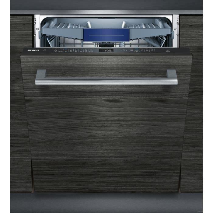 Lave-vaisselle tout-encastrable Siemens SN658X02ME - 60 cm, 14 couverts, 42 dB