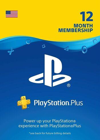 Abonnement de 12 mois au PlayStation Plus (Dématérialisé - Compte USA) (Taxe PayPal inclus)