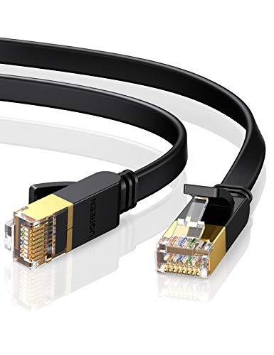 Câble Ethernet plat RJ45 Ugreen - Cat 7, 10 Gbps, 600 MHz, 8P8C (Vendeur tiers)