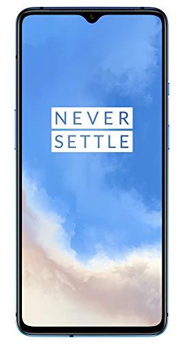 "Smartphone 6.55"" OnePlus 7T - 128Go, 8go RAM - Bleu (Reconditionné - Bon état)"