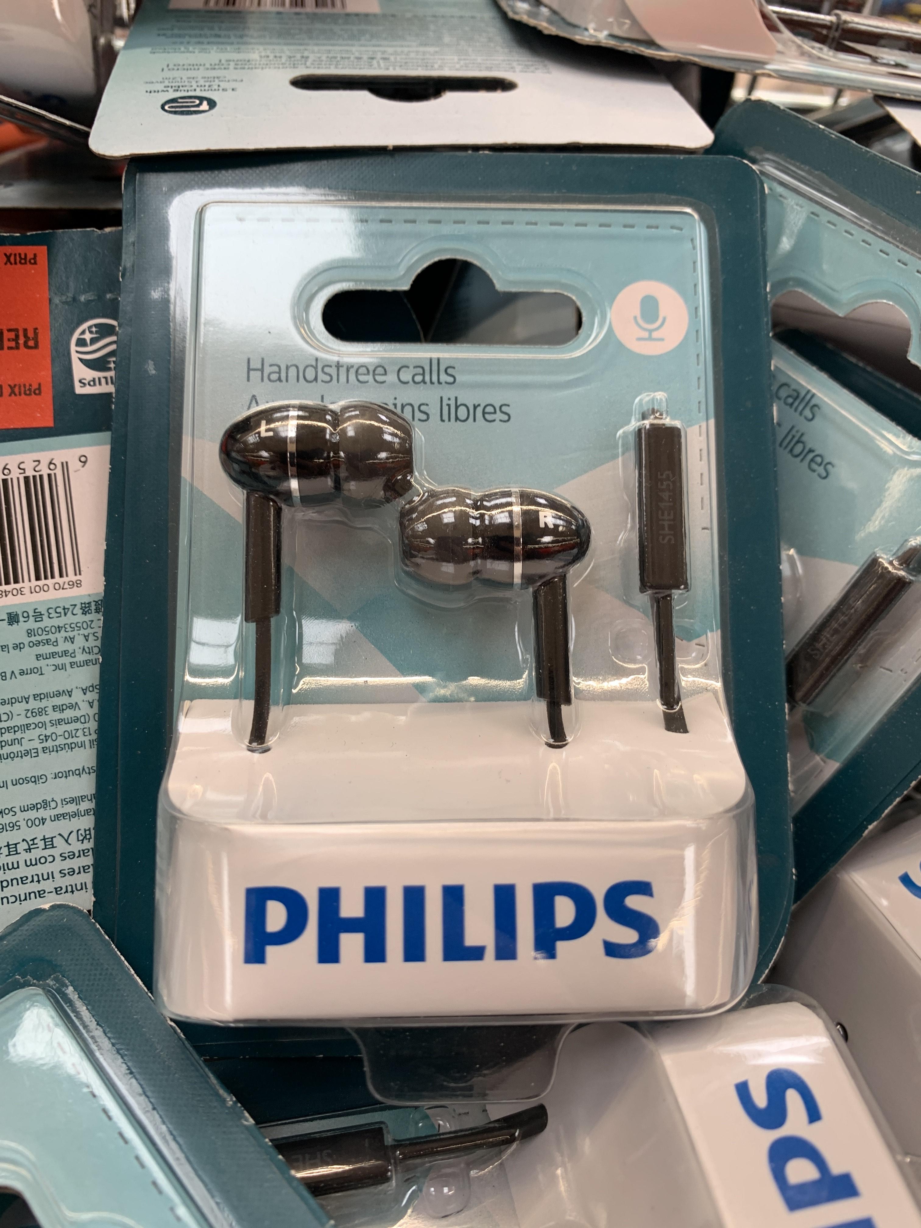 Écouteurs intra-auriculaires avec micro Philips (Merignac Soleil 33)