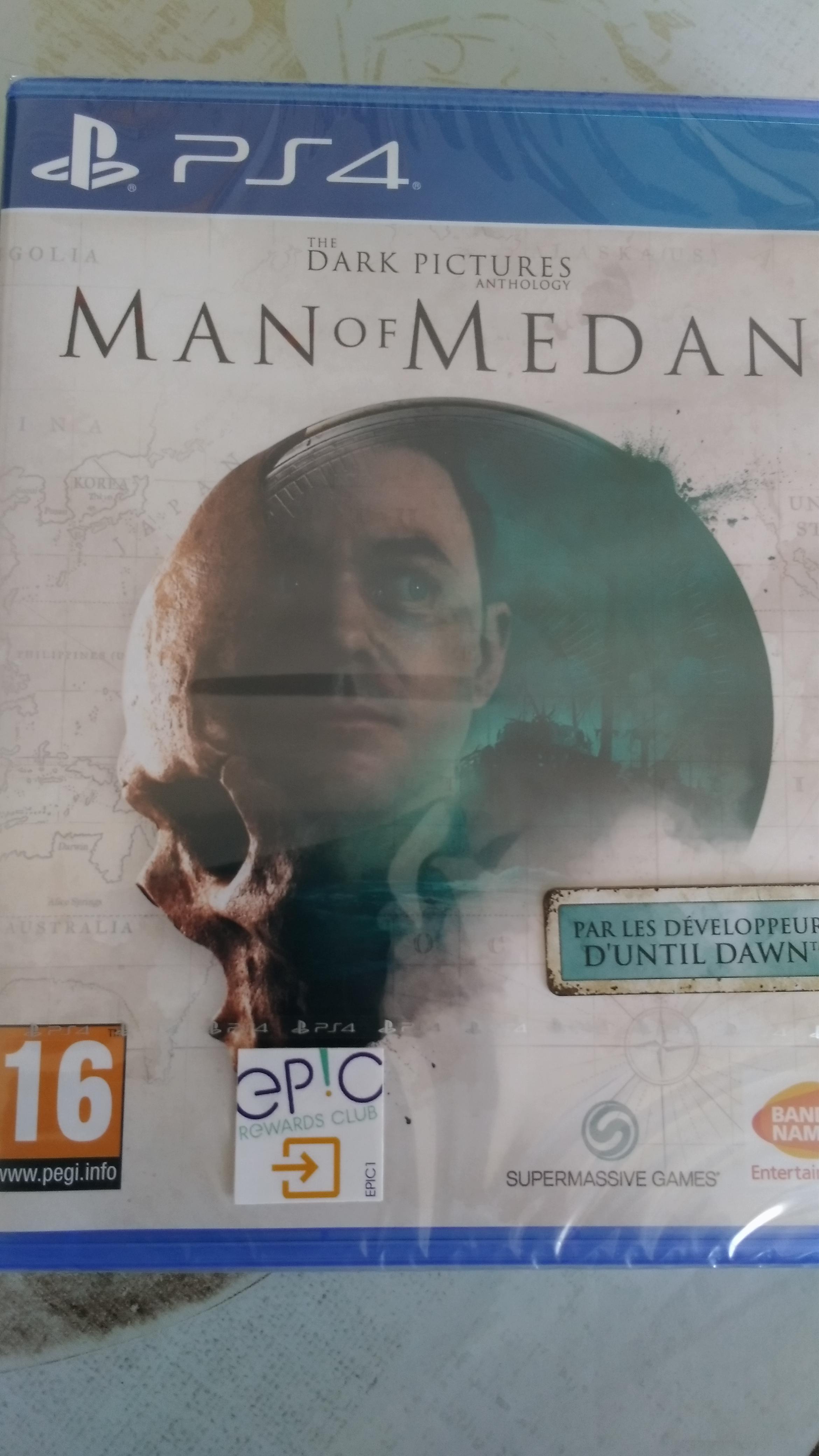 Jeu The Dark Pictures Anthology : Man Of Medan sur PS4 - Saint-Genis-Laval (69)