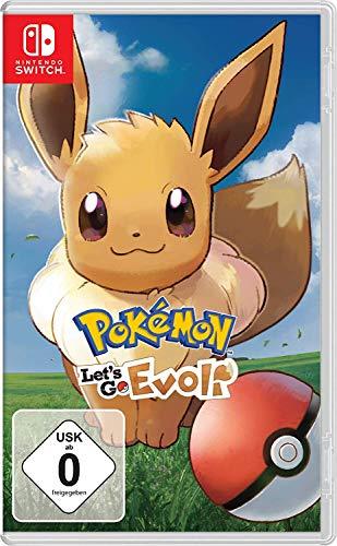 Jeu Pokemon Let's Go Evoli sur Nintendo switch