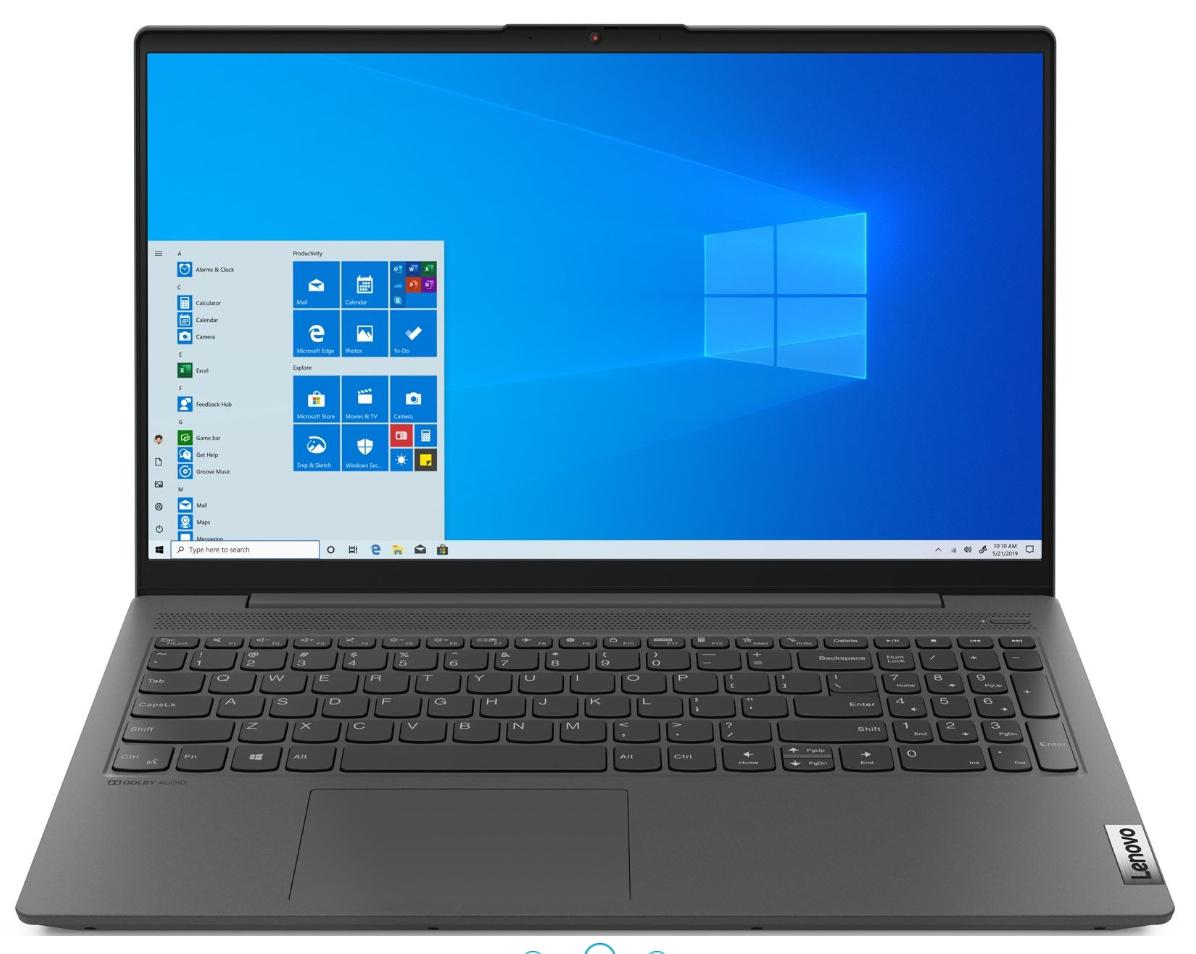 "PC Portable 15.6"" Lenovo IdeaPad IP 5 15ARE05-308 - Full HD, Ryzen 5 4500U, 8 Go RAM, 512 Go SSD"